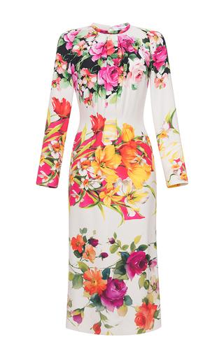 Medium blumarine multi long sleeve floral dress