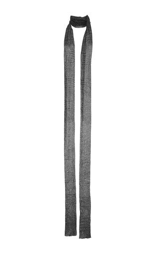 Medium missoni multi gunmetal scarf