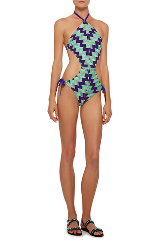 Bande Cutout Maillot  by MISSONI MARE Now Available on Moda Operandi