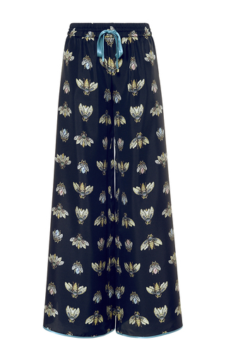 Medium for restless sleepers print callisto insects jewels pant