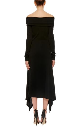 Long Sleeve Off The Shoulder Dress by DEREK LAM Now Available on Moda Operandi