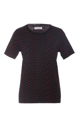 Medium apiece apart print zig zag print t shirt