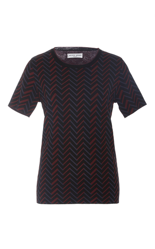 Medium apiece apart print zig zag print t shirt