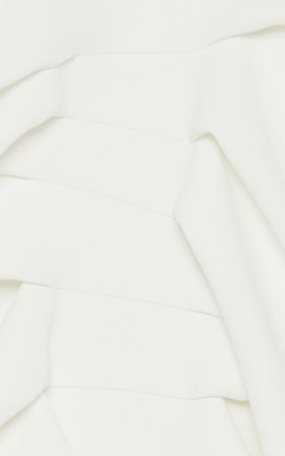 Ornamental Ruffled Front Dress by MATICEVSKI Now Available on Moda Operandi