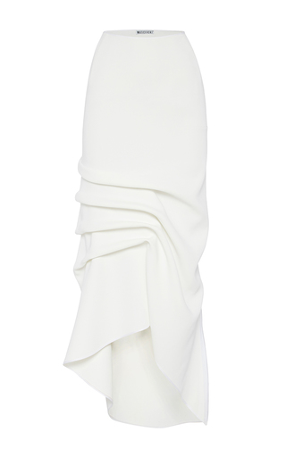Medium maticevski white victorious long line skirt