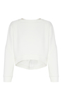Occurrence Cropped Sweater by MATICEVSKI Now Available on Moda Operandi