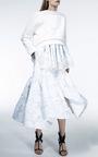 Aztec Empire Full Skirt by MATICEVSKI Now Available on Moda Operandi