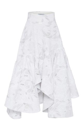 Medium maticevski white aztec empire full skirt