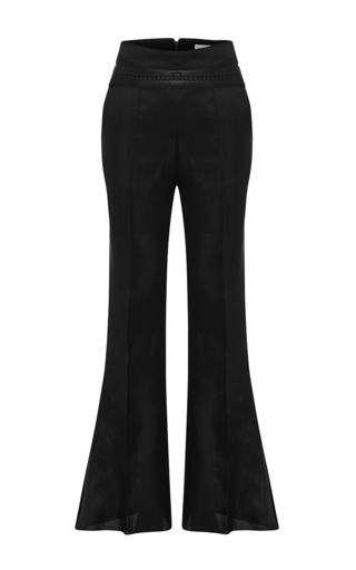 Medium maticevski black ritual flared pants