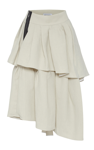 Medium maticevski neutral livelihood tiered skirt