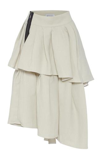 Medium maticevski neutral livelihood tiered skirt