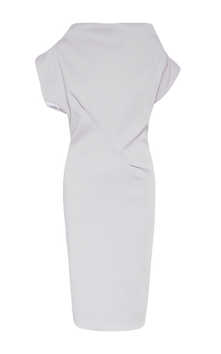 Medium maticevski light grey nero cocktail dress