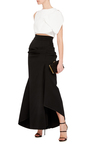 Everlasting Cropped Bodice by MATICEVSKI Now Available on Moda Operandi