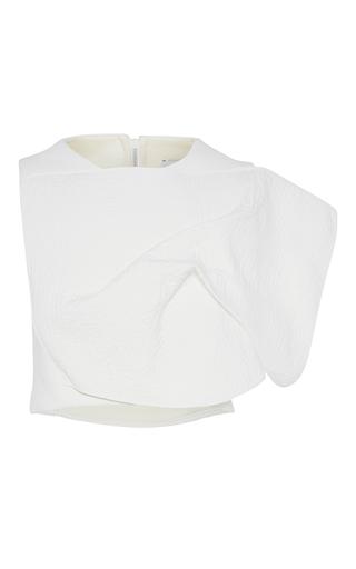 Medium maticevski white everlasting cropped bodice