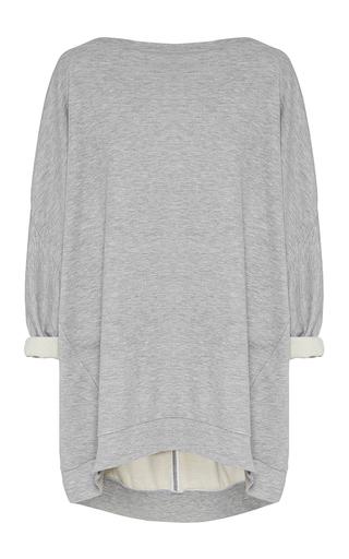 Medium maticevski light grey league oversized sweater  2