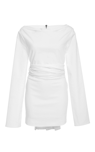 Medium maticevski white enslave wrap top  2