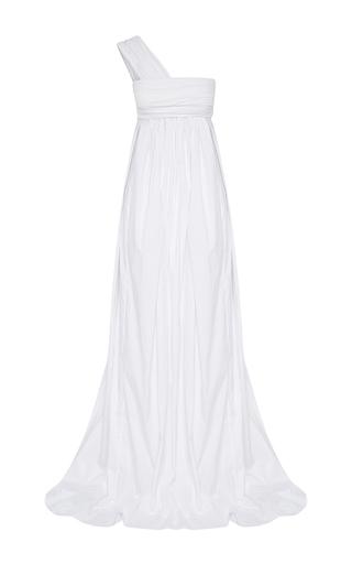 Medium maticevski white worship one shoulder gown