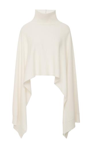 Medium rosetta getty ivory turtleneck cape sweater