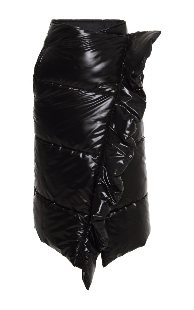 27cb152c0 Black Quilted Puffer Skirt by MSGM | Moda Operandi