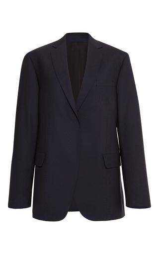 Medium msgm navy wool blazer