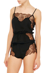 Lace Tap Short by FLEUR DU MAL Now Available on Moda Operandi