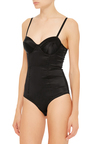 Satin Bodysuit by FLEUR DU MAL Now Available on Moda Operandi