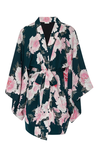 Medium fleur du mal floral haori kimono