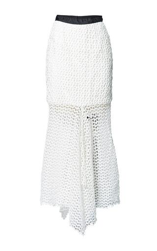 Medium romance was born white incarnation lace skirt