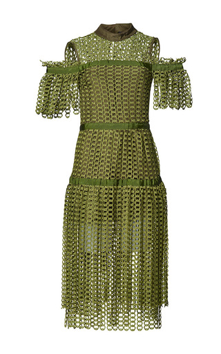 Medium romance was born green link garden dress