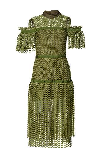 Medium romance was born green link garden dress