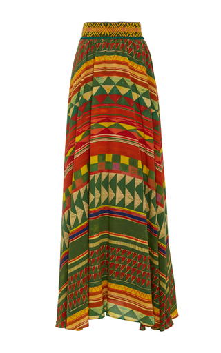 Medium stella jean multi desiderare geometric skirt