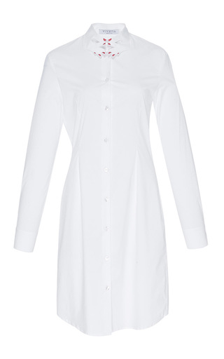 Medium vivetta white raano shirt dress