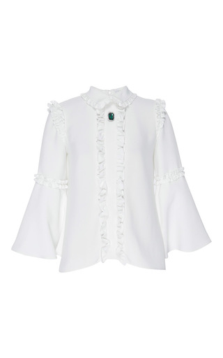 Medium vivetta ivory white olmo shirt