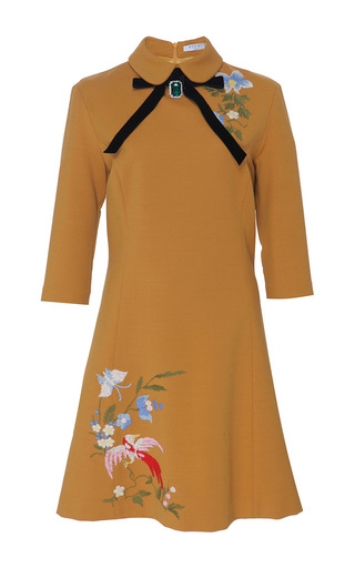 Medium vivetta tan pino mini dress