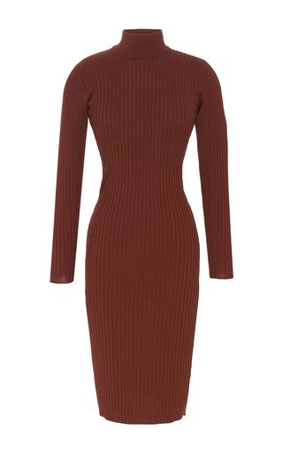 Medium vivetta brown cocoa tamaro knitted dress