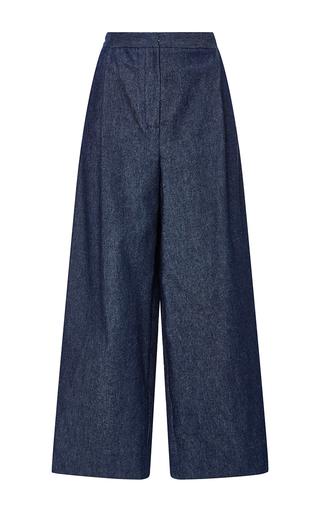 Medium whit blue smith denim pants