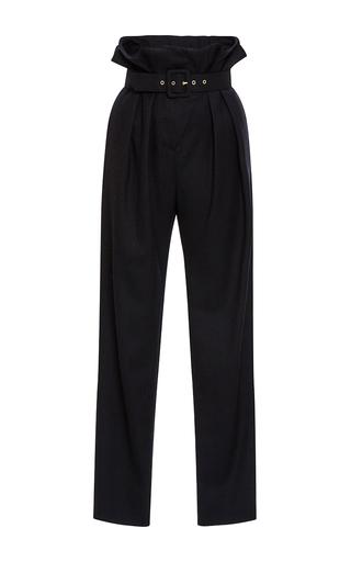 Medium whit navy beckett herringbone wool pants