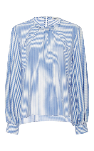 Medium whit stripe alice striped blouse