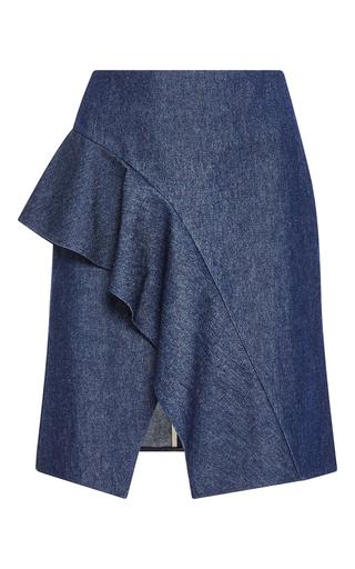 Medium whit blue joni denim skirt
