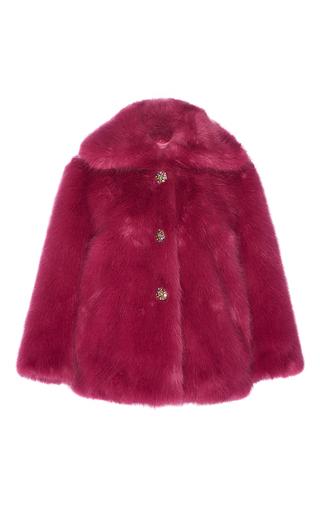 Medium manoush purple jewel faux fur coat