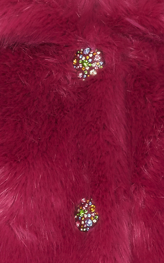 Jewel Faux Fur Coat by MANOUSH Now Available on Moda Operandi