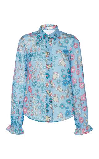 Medium manoush floral rain flower shirt