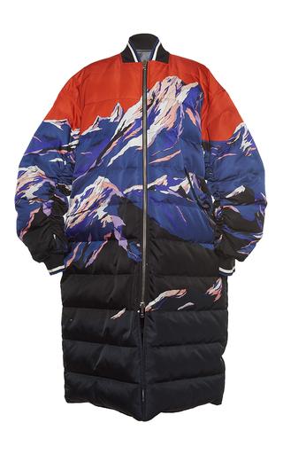 Medium emilio pucci print scenic print reversible down jacket