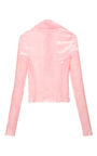 Crushed Velvet Long Sleeve Top by EMILIO PUCCI Now Available on Moda Operandi