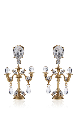 cross and dolce gabbana earrings