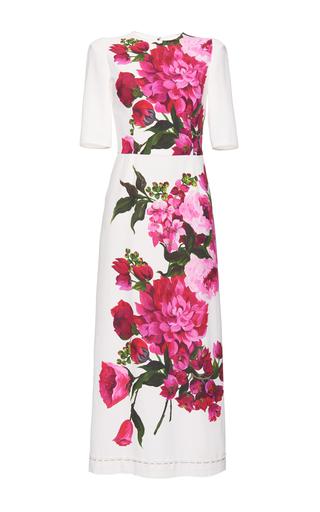 Medium dolce gabbana floral placed floral print dress