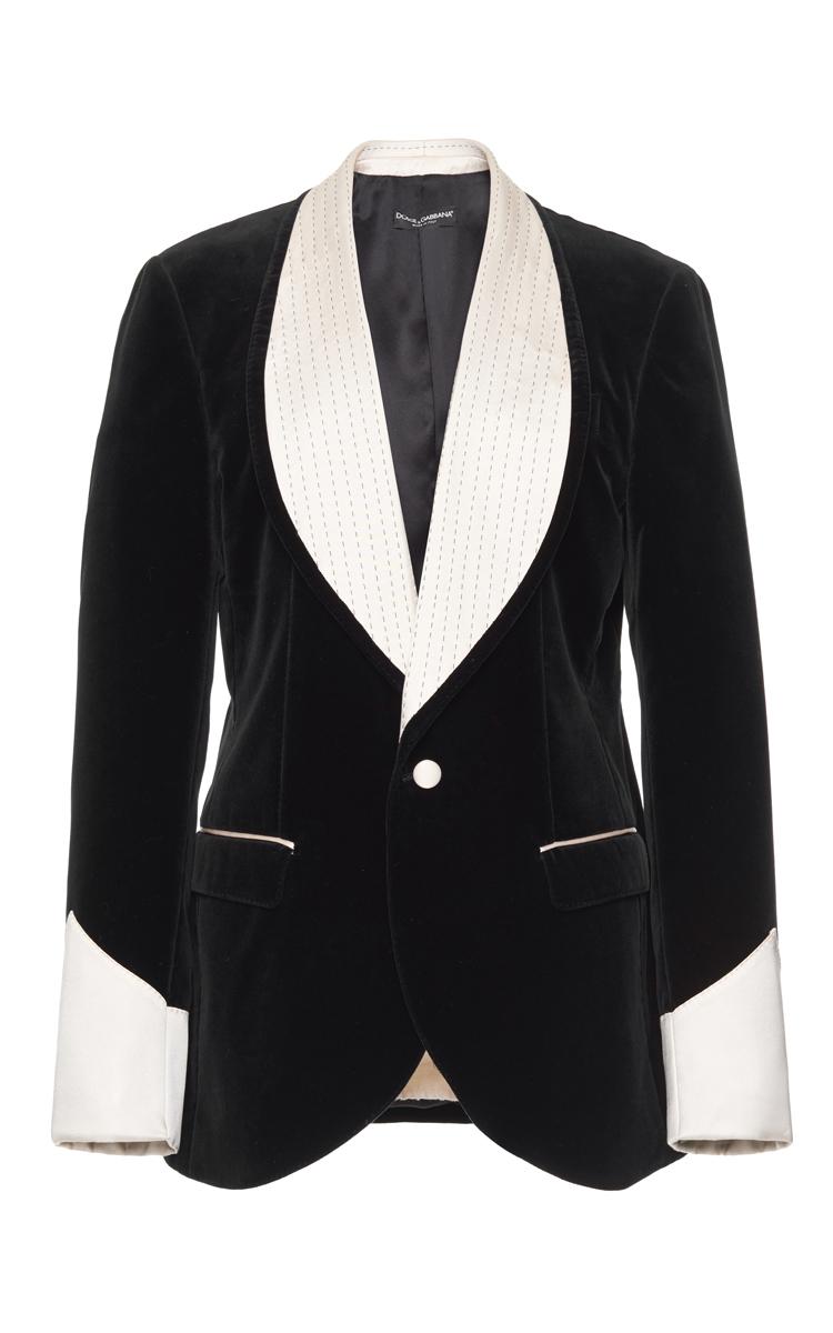 Velvet Smoking Jacket by Dolce   Gabbana  43f62d1ea2