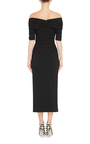 Wool Off The Shoulder Dress by DOLCE & GABBANA Now Available on Moda Operandi