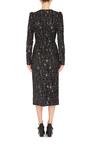 3 D Metallic Jacquard Dress by DOLCE & GABBANA Now Available on Moda Operandi