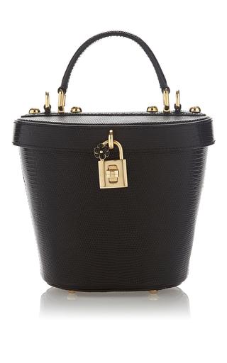 Medium dolce gabbana black bucket bag